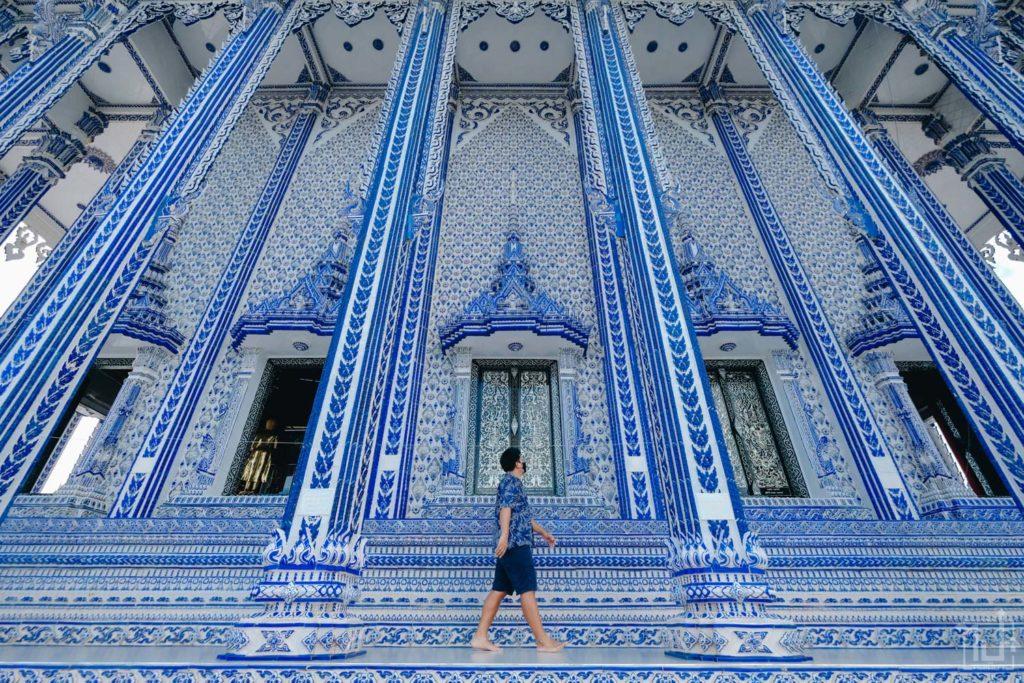 โบสถ์สีน้ำเงิน ที่เที่ยวจันทบุรี