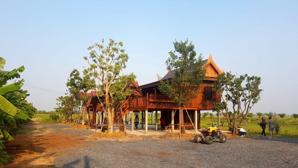 บ้านข้าวหอม ฟาร์มสเตย์ สิงห์บุรี