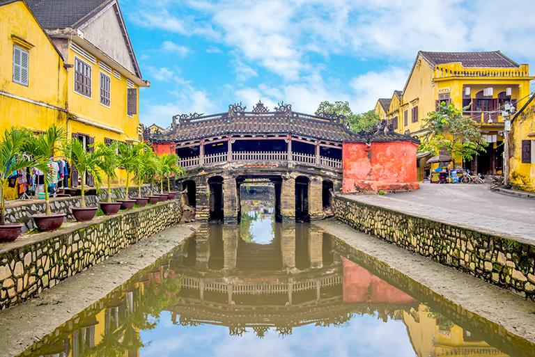 สะพานญี่ปุ่นเมืองฮอยอัน เมืองดานัง
