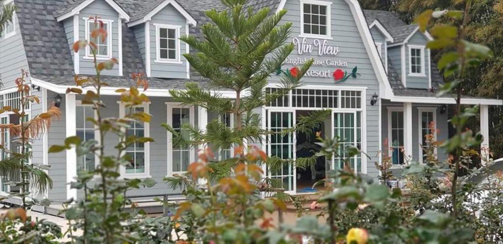 Vin view English rose garden Resort